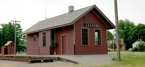 Zachow Train Station